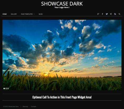 RichWP – Showcase Dark WordPress Gallery Theme