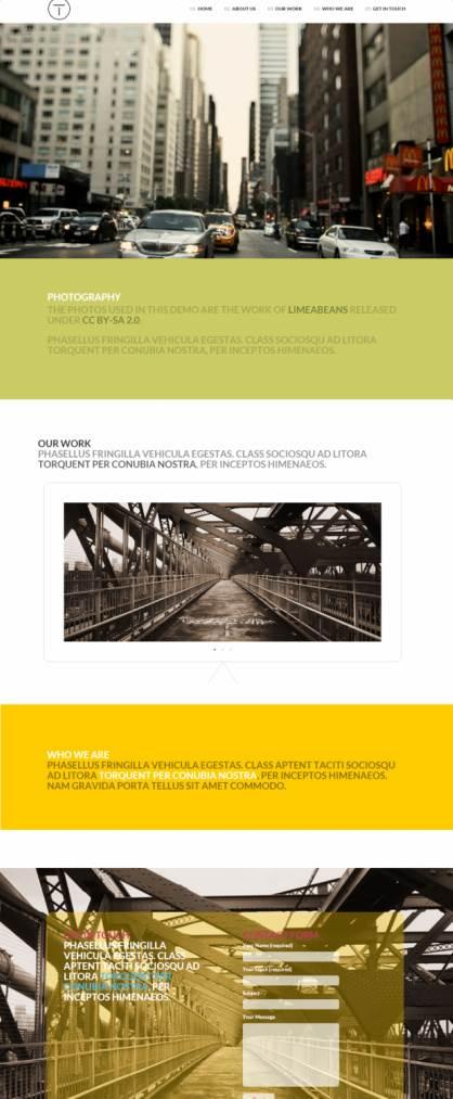 Viva Themes Telesis – One Page WordPress Theme