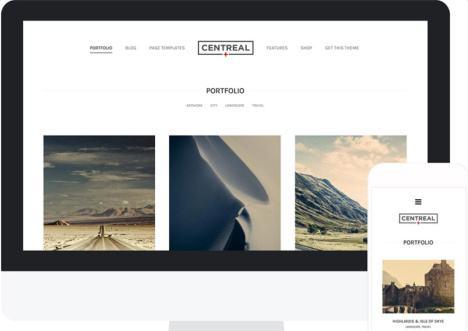 Centreal Plus – Northeme WordPress Portfolio Theme