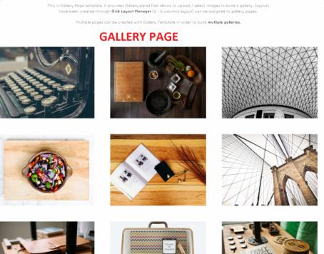Gallery - Madrigal Theme