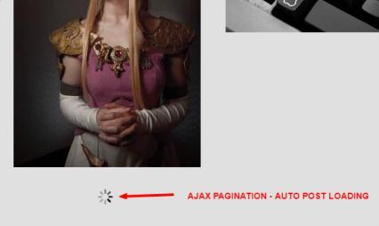 Ajax Pagination Gallery