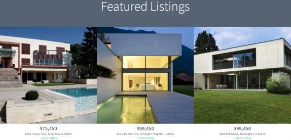 Featured Listings - Agent Focused