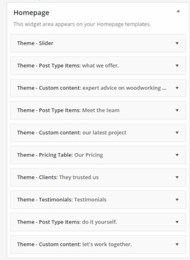 Flexible Homepage - CSSIgniter Business Theme