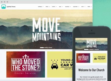 Upthemes Uplifted : ChurchTheme.Net WordPress Theme