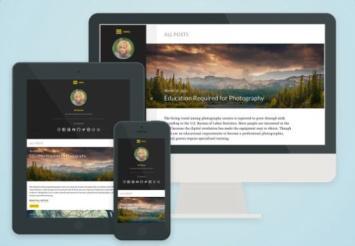 Worldview UpThemes - Responsive Design