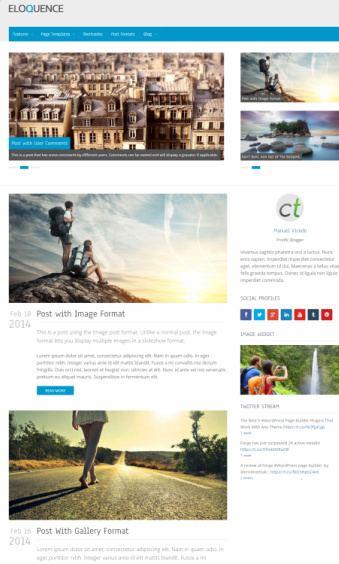 Eloquence WordPress Blogging Theme : CPOThemes