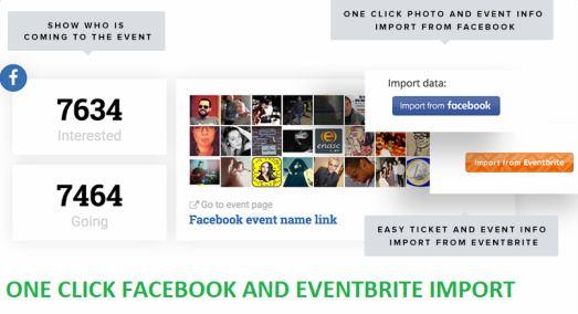 Facebook Eventbrite Import Feature - Conference Pro