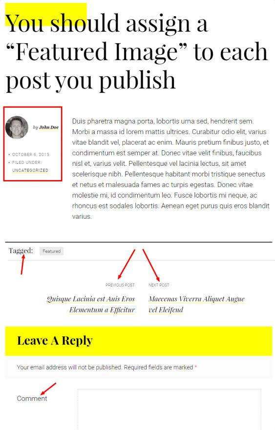 Featured Post Sample - Milan Pro Demo