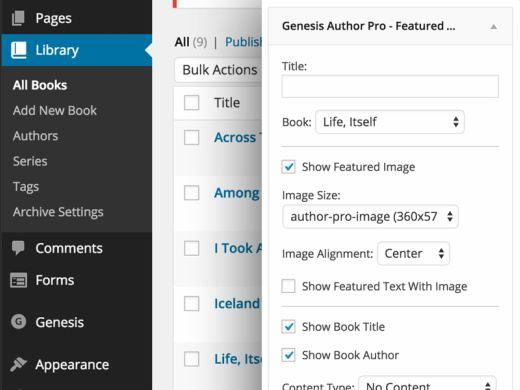 Genesis Author Pro Plugin - Publishing WordPress Theme