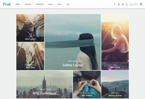 Themify Peak : Blog/Portfolio WordPress Theme