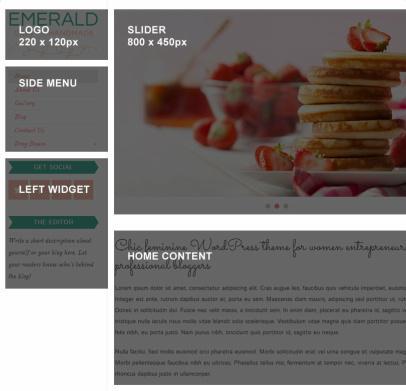 Emerald Bluchic - Homepage Demo