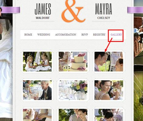 Gallery Template - Just Married