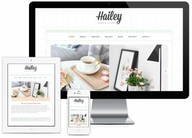 Hailey Responsive Blog Theme