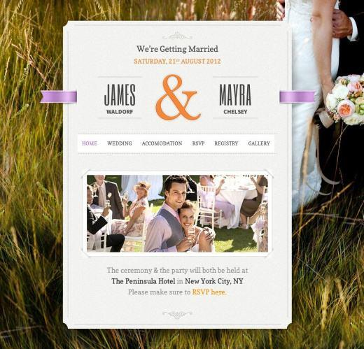 Just Married Review - ThemeFuse - Wedding WordPress Theme