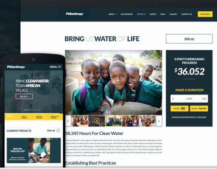 Philanthropy - Responsive Non Profit Theme