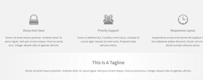 Practical - Featured Services and Tagline