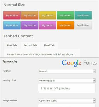 Shortcodes and Fonts - CPOThemes