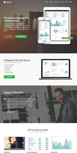 Struct Demo : Business WordPress Theme by CSSIgniter