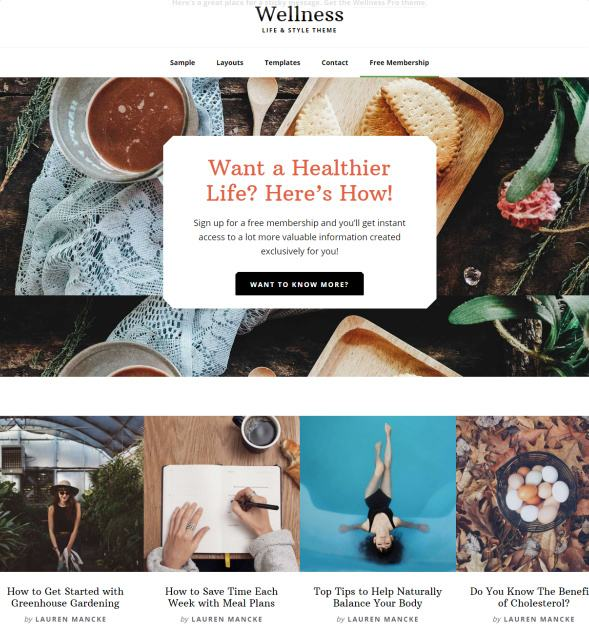 a place to call home setting executive pro review studiopress Wellness Pro Genesis WordPress Theme : StudioPress