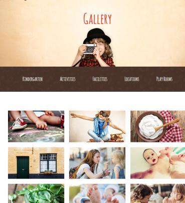 Gallery - Kids Play Theme