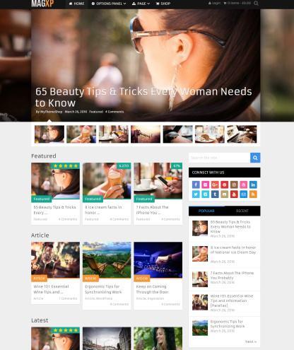MagXP Demo –  MyThemeShop – Magazine WordPress Theme