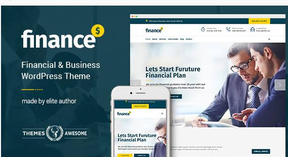 Finance Theme Review - Themes Awesome | READ TRUTH