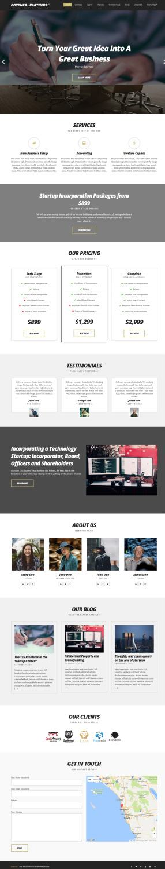 CSSIgniter Potenza Demo : Business WordPress Theme