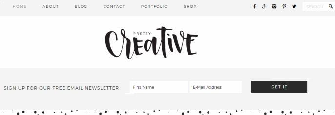 pretty-creative-custom-header