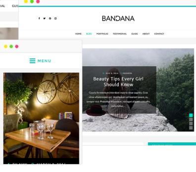 bandana-responsive