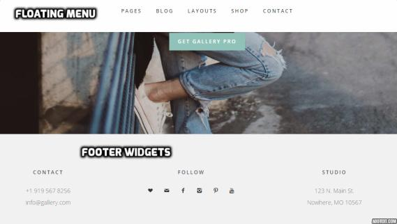 gallery-pro-floating-menu-and-footer-widgets