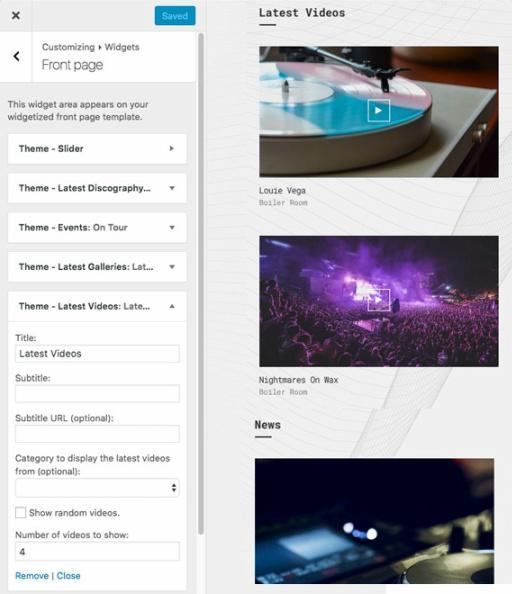 oxium-frontpage-custom-widgets