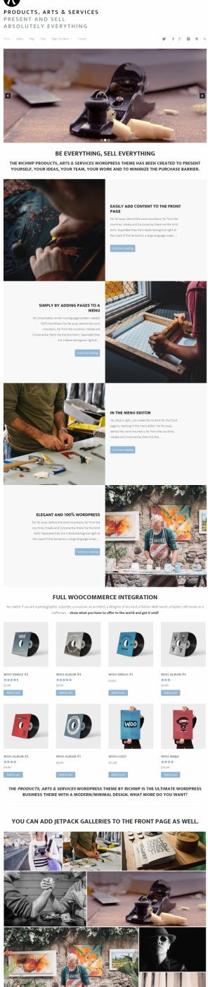 products-arts-services-wordpress-theme-review-richwp