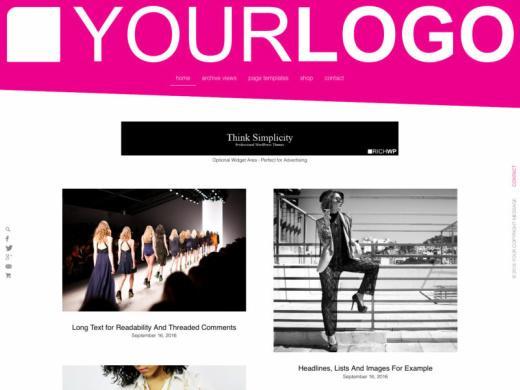 Rich Modern RichWP.com – WordPress Blogging Theme