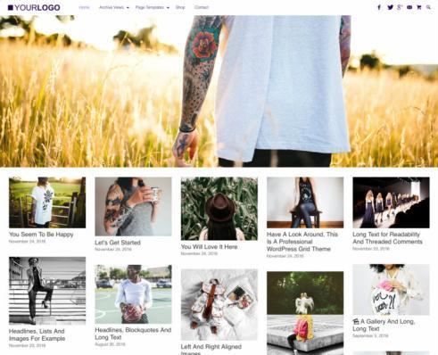 RichWP SuperGrid : Blog/Magazine WordPress Theme