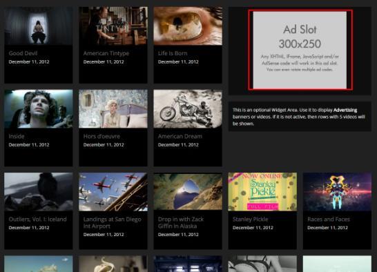 Homepage - Video Hub Demo