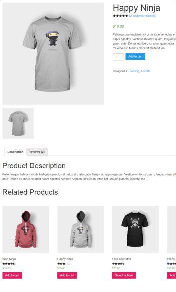 Product Single Post - Pop Up Shop Theme