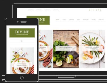 Responsive - Divine Theme Restored 316 Designs