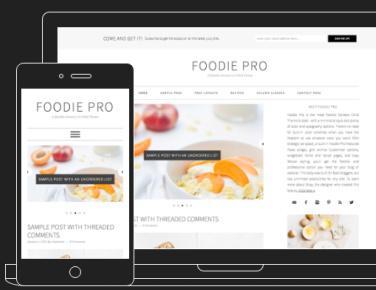 Responsive - Foodie Pro by Shay Bocks