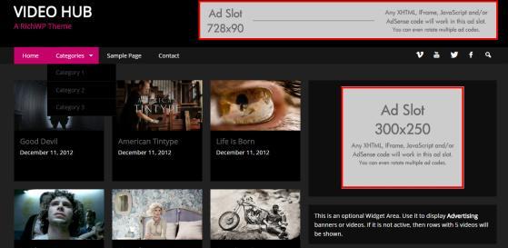 Video Hub Header