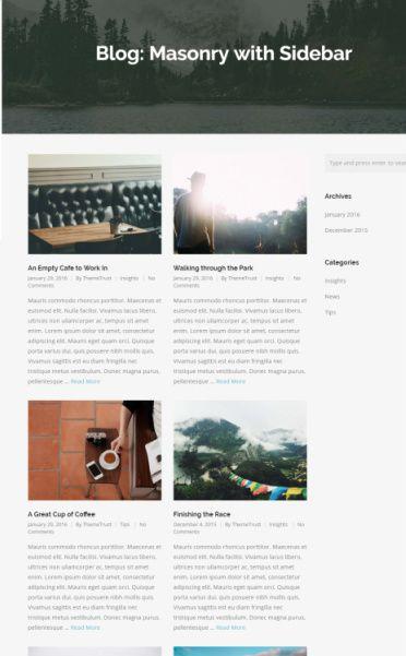 Blog Masonry - Bramble