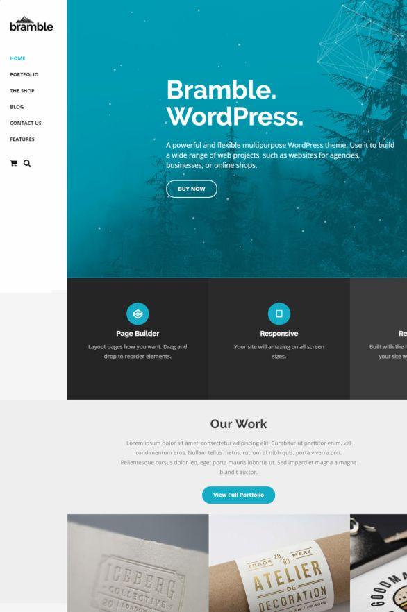 Bramble WordPress Theme - ThemeTrust