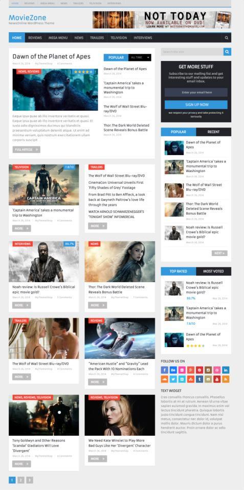 News Online MyThemeShop : Magazine WordPress Theme