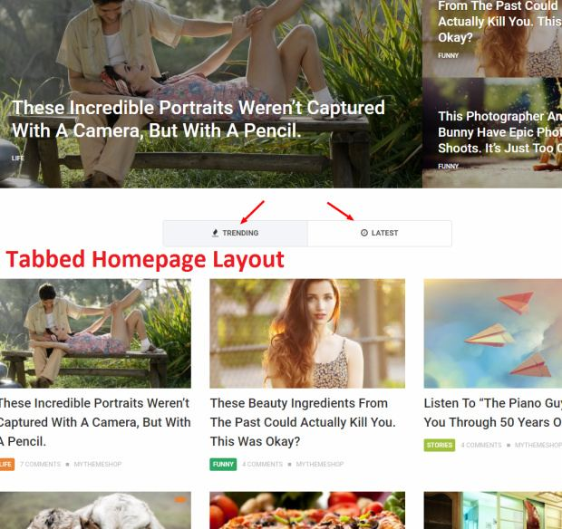 NewsPaper Homepage - Featured Posts