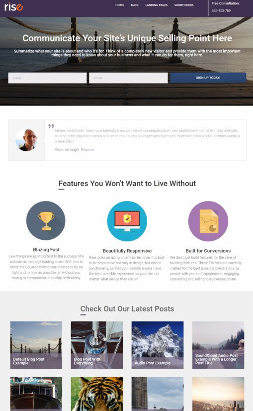 Buy WordPress Themes  Thrive Themes Colors Most Popular