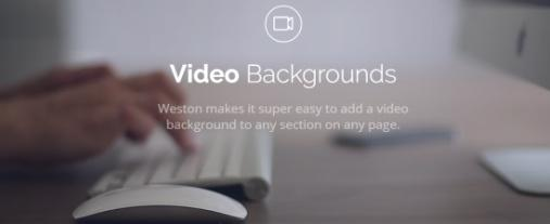 Video and Parallax Backgrounds – Weston Theme Trust
