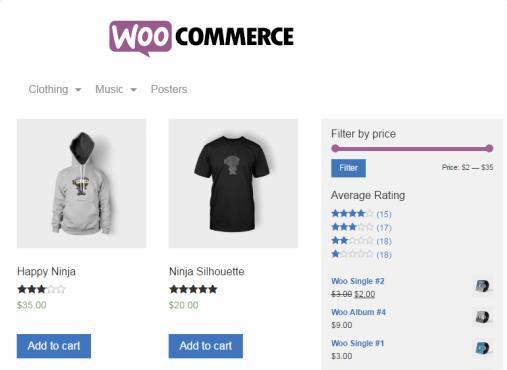 WooCommerce eCommerce Shop - RichCORP