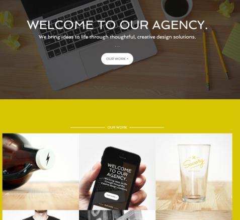 Agency Pro - Homepage Widget Structure