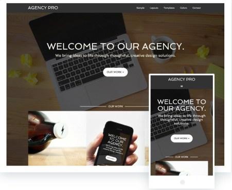 Agency Pro StudioPress : Genesis Business Theme for WordPress