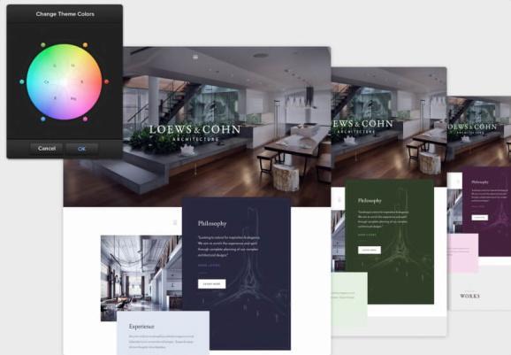 Color Options - Architekt The Core