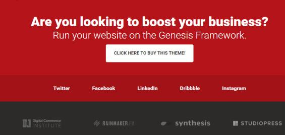 Footer - SPI Theme